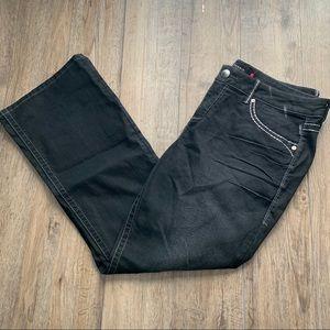 Women's torrid black boot cut jeans